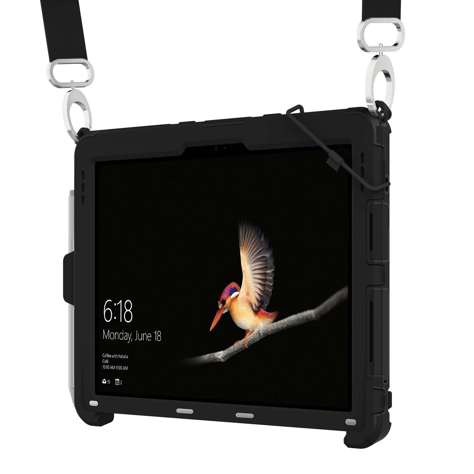 Surface GO 10 pouces Griffin Survivor Slim Sangle main et harnais tour de cou