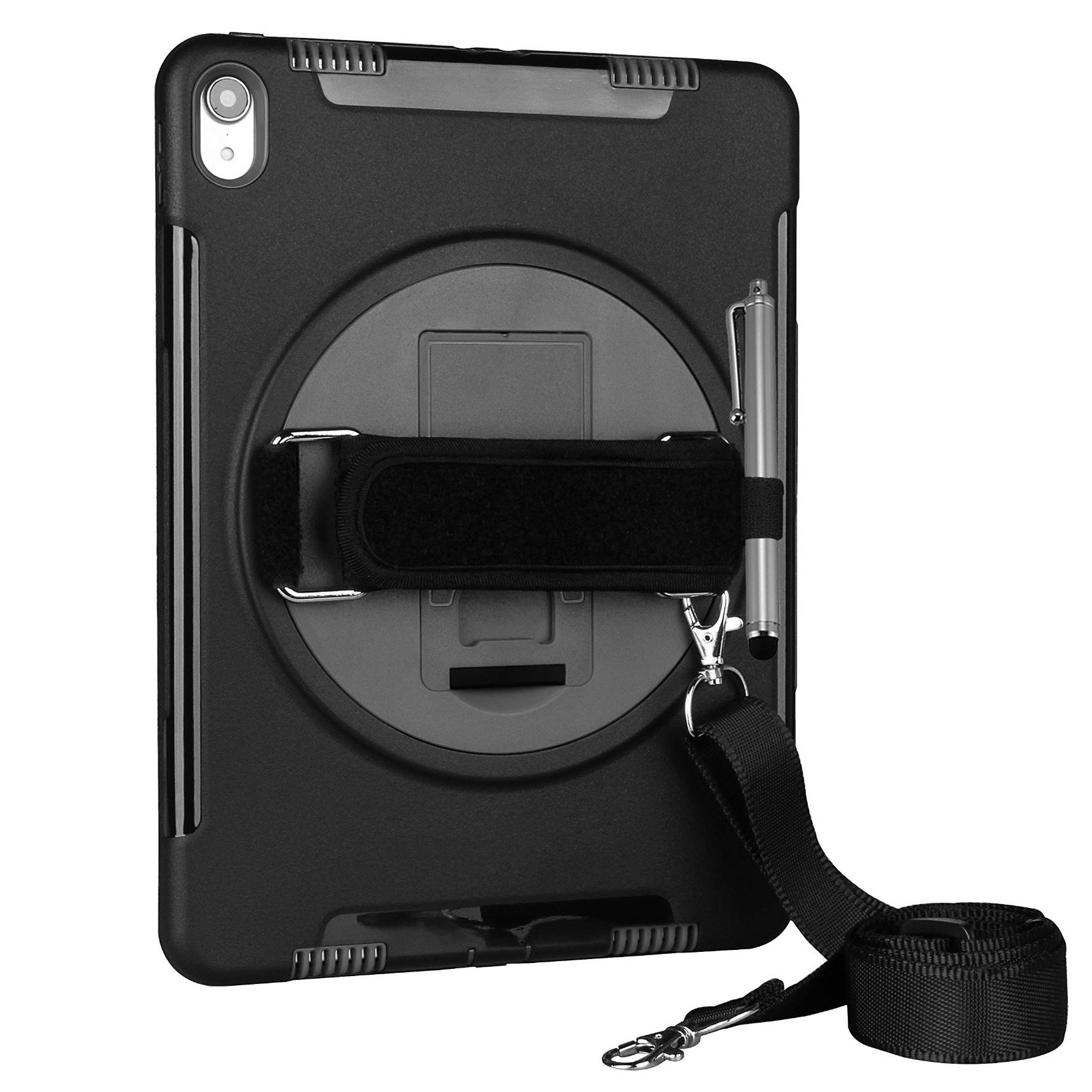 iPad PRO 11 pouces Coque de protection avec Sangle main et Harnais tour de cou Libourne