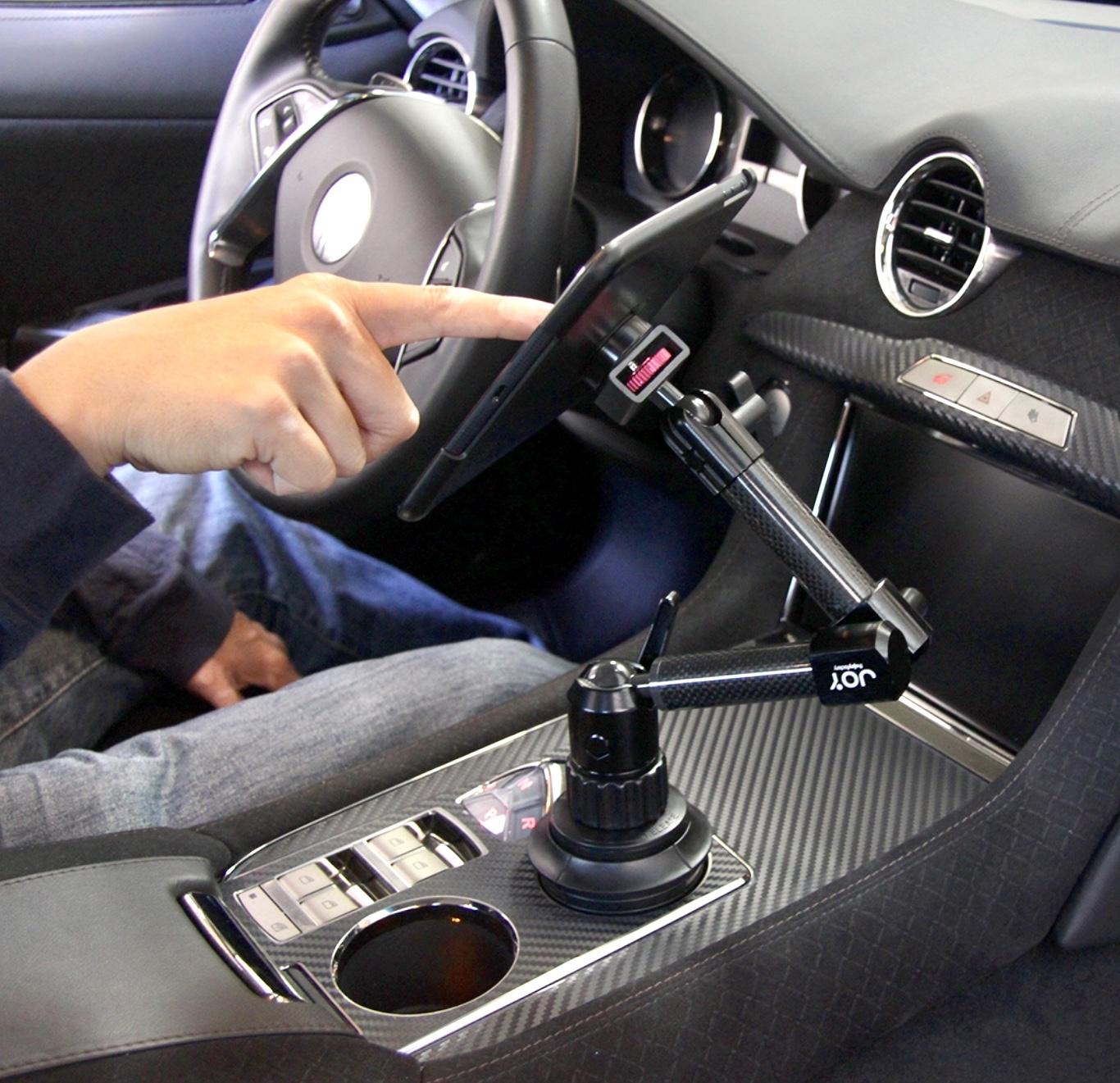 4 en 1 Support Bras articule Auto et Coque de protection iPAD PRO 2018 12.9 pouces 3e Gen Connect Car