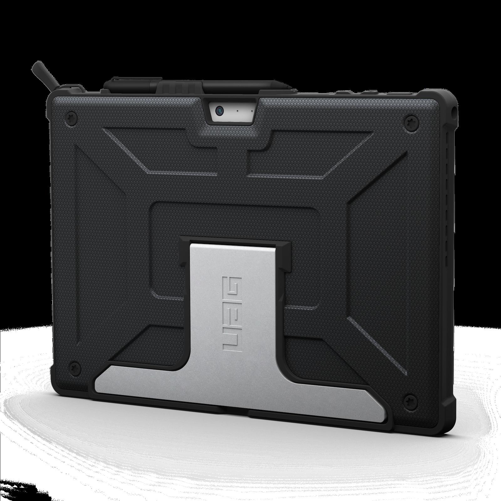 Surface PRO 6 12.3 pouces Coque de protection renforcee Multi angles Armure Noir