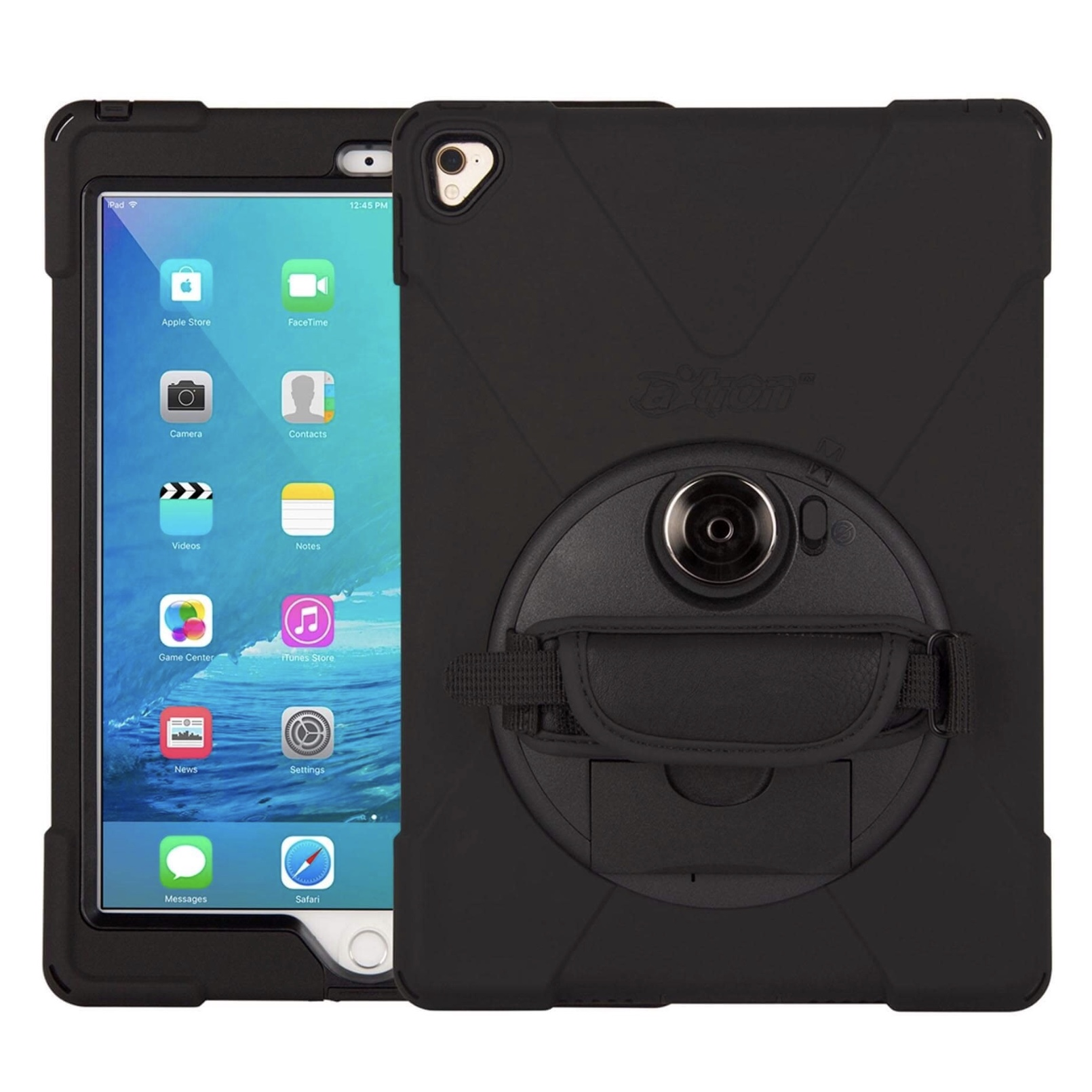 iPad AIR 10.5 pouces 2019 Coque Protection Waterproof Sangle main et film ecran Premium Connect