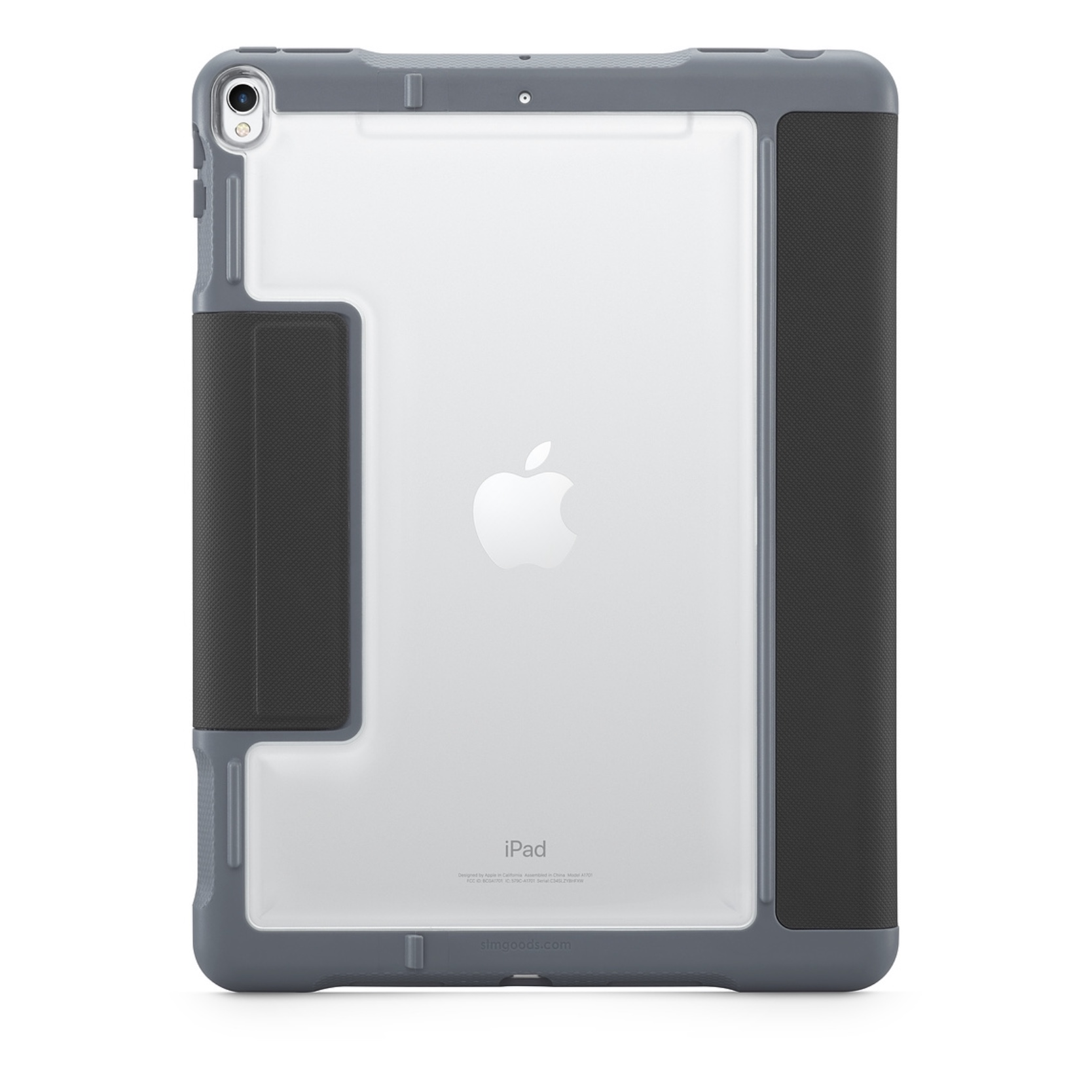 iPAD AIR 2019 10.5 pouces Etui Folio Coque de protection Dux Plus