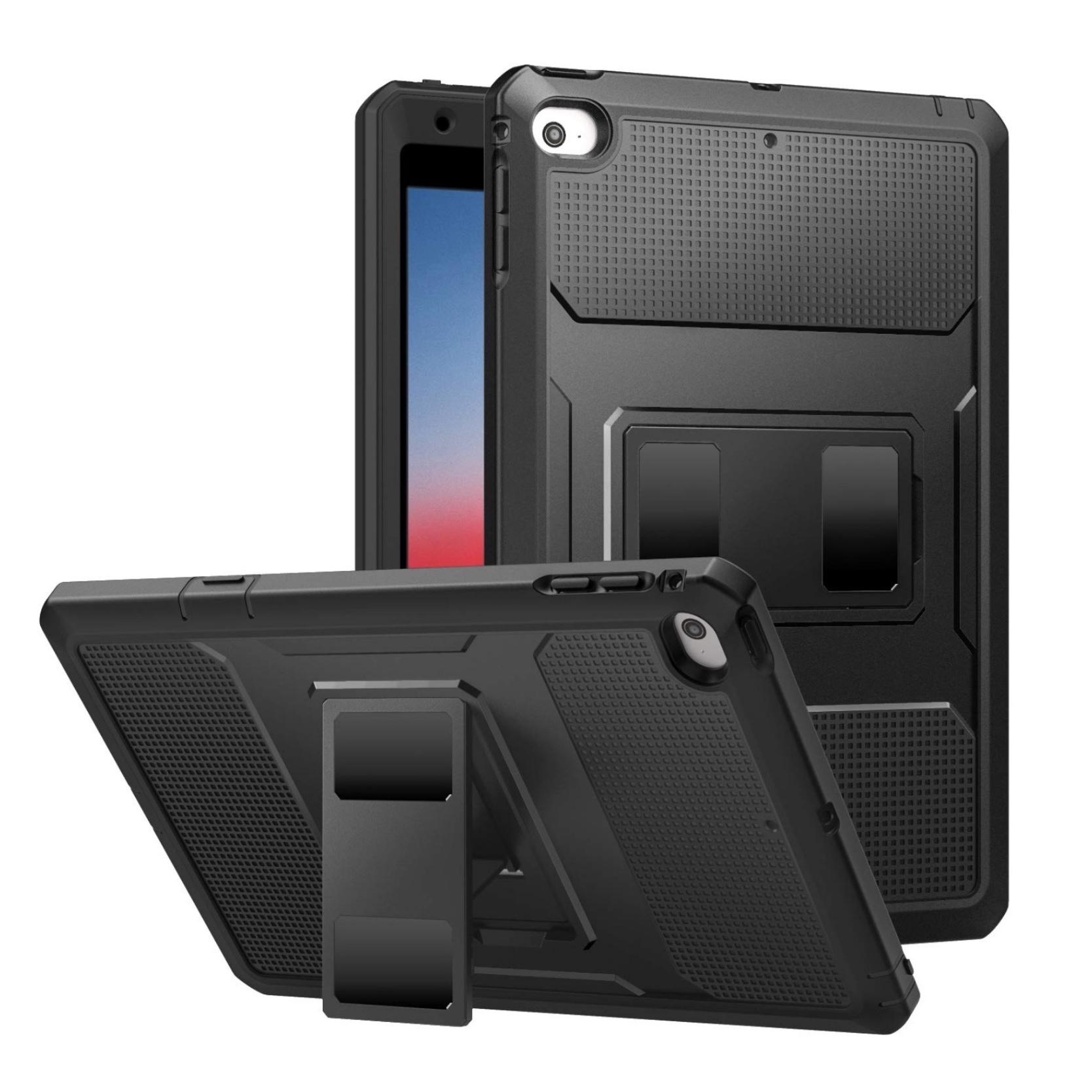 iPAD Mini 5 2019 7.9 pouces Coque de protection Pied et film rigide ecran