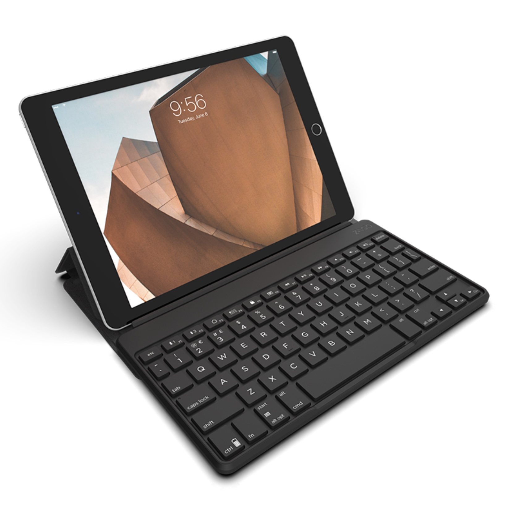 Flex Clavier AZERTY Universel Bluetooth avec fonction Support tablette iOS Windows et Android