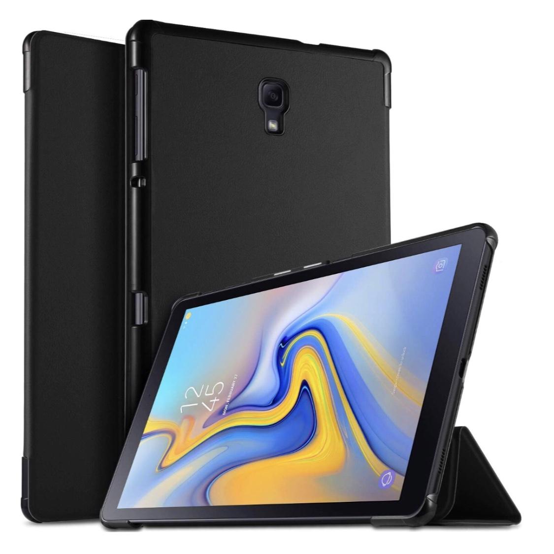 Duo 2 en 1 Etui Folio Galaxy TAB S4 10.5 pouces er verre de protection ecran