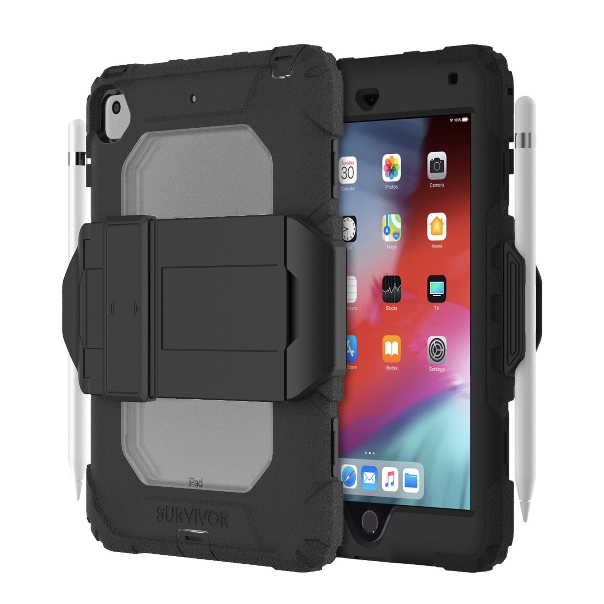 iPAD Mini 5 2019 Coque de protection renforcee Survivor All Terrain