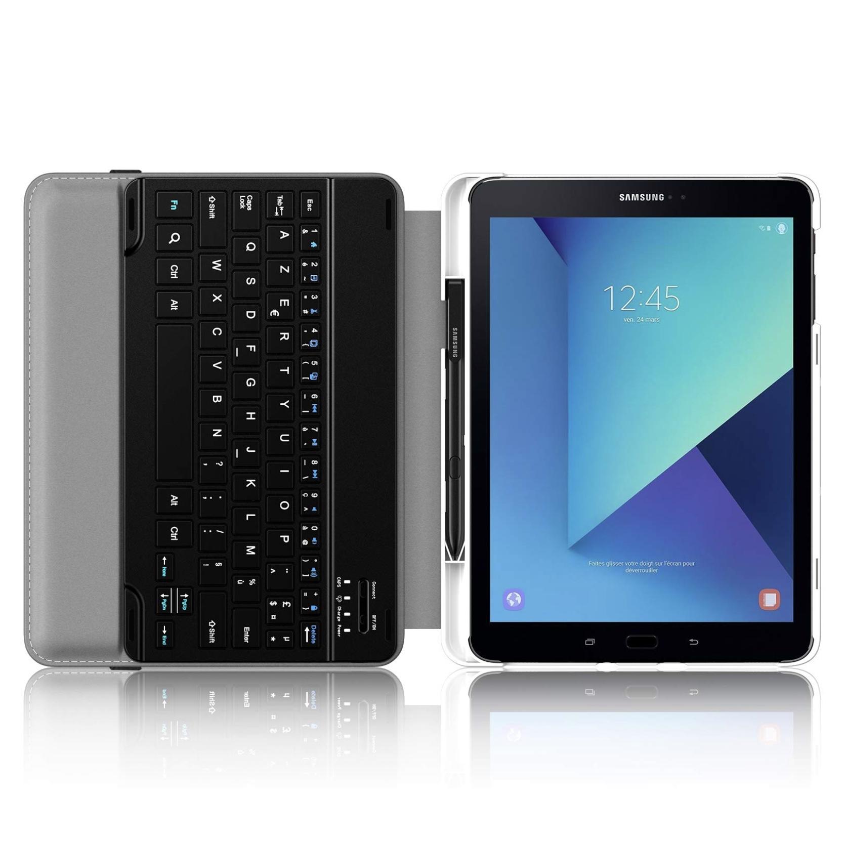Samsung Galaxy TAB S3 9.7 pouces Etui Clavier AZERTY Folio Caracas