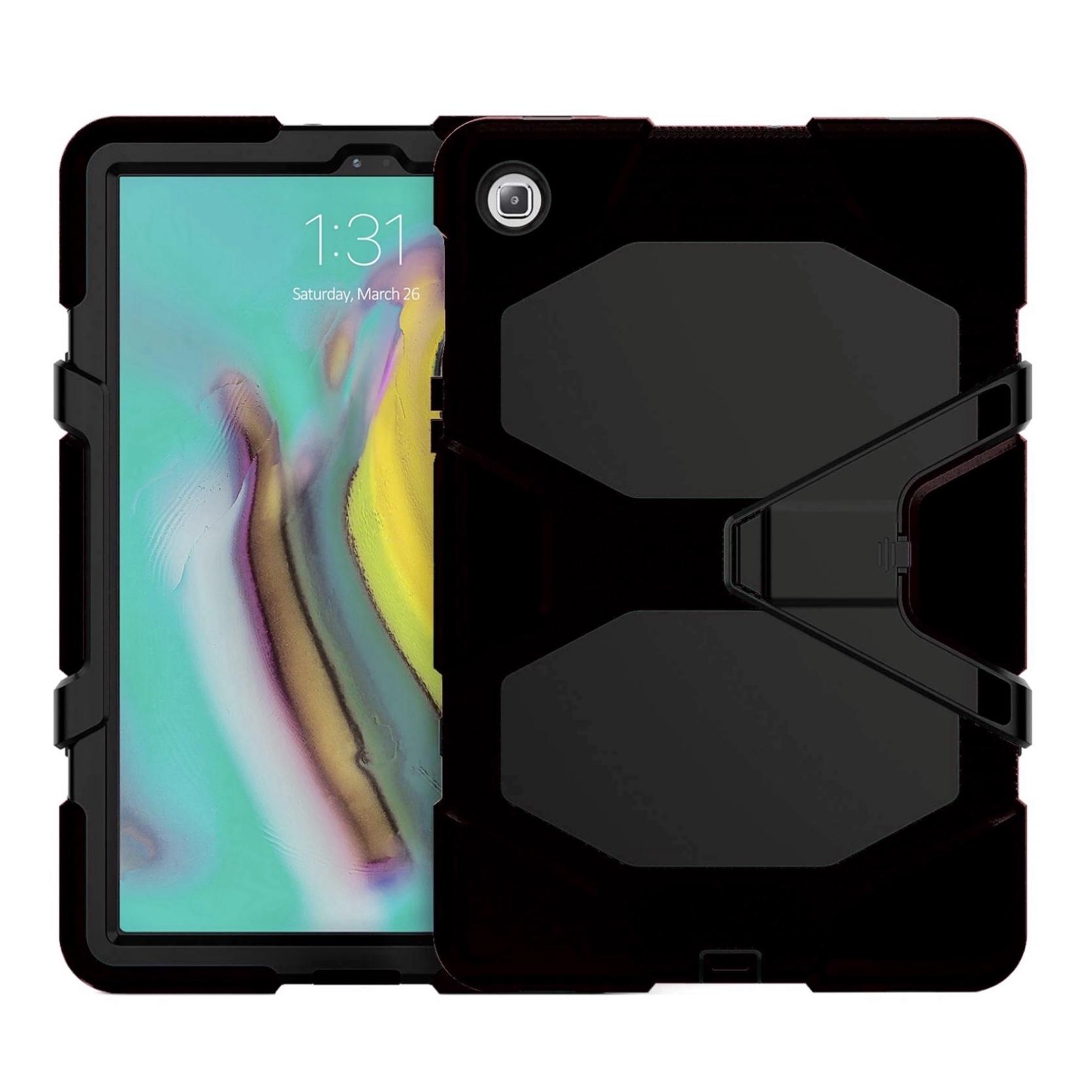 Galaxy TAB S5e 10.5 pouces T720 Coque renforcee avec film rigide ecran Vegas NOIR