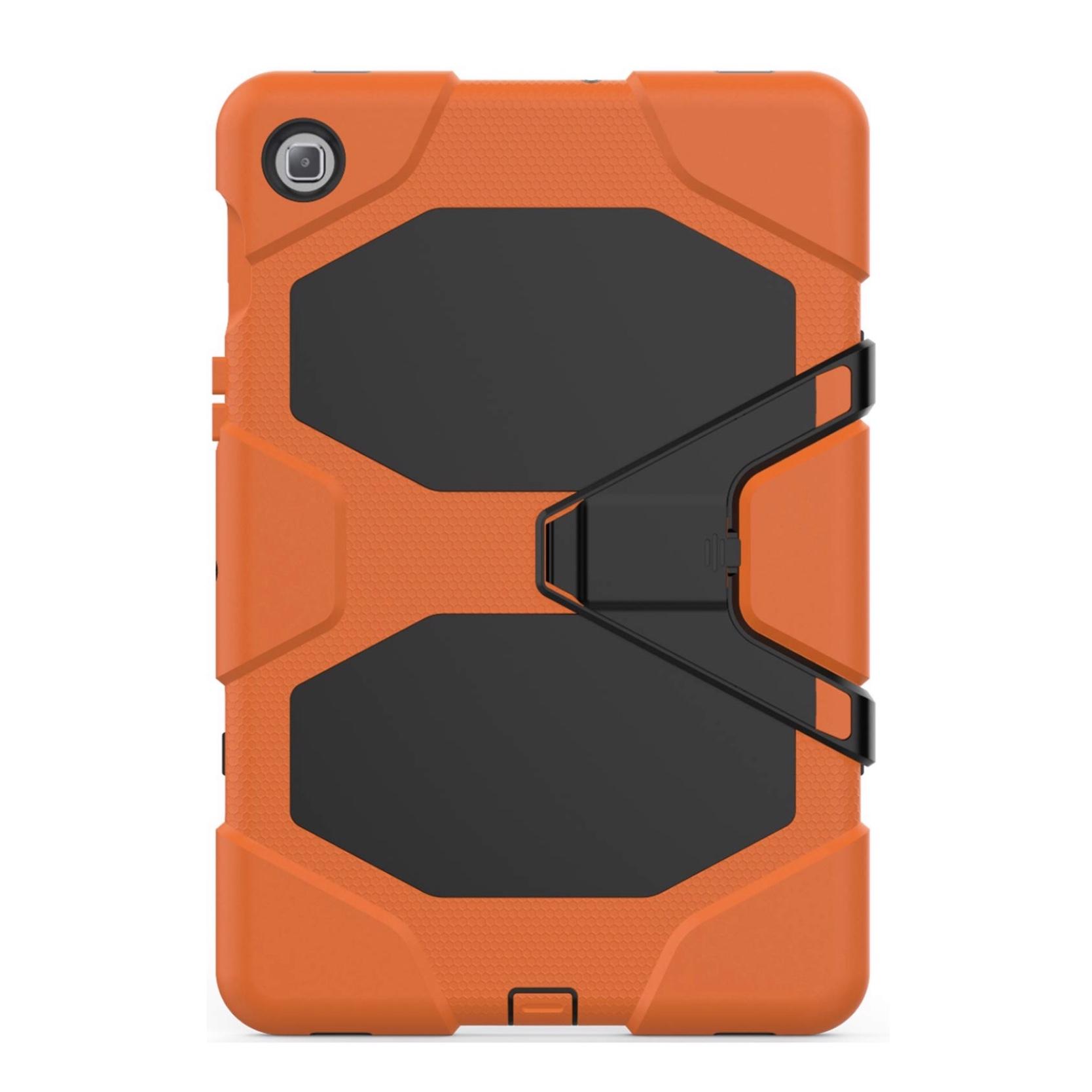 Pack 2 en 1 Coque renforcee et Verre de protection ecran Galaxy TAB S5e 10.5 pouces T720 Vegas ORANGE