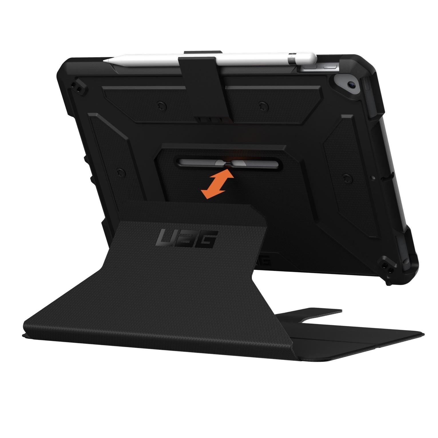 Pack 2 en 1 Verre de protection et Etui Folio Armure New iPAD 10.2 pouces