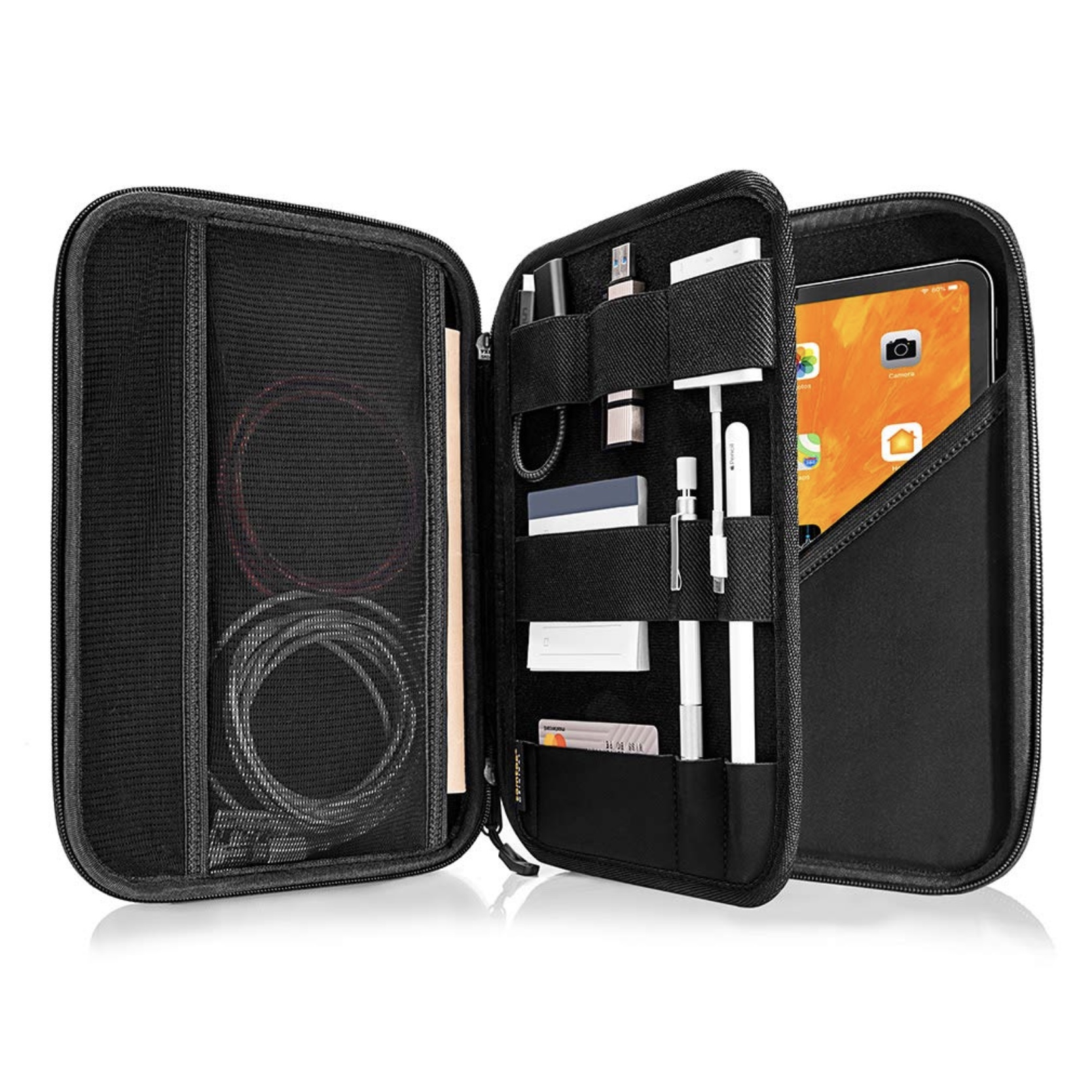 Etui Universel Rangement Cables Accessoires et Tablettes 9.7 à 11 pouces