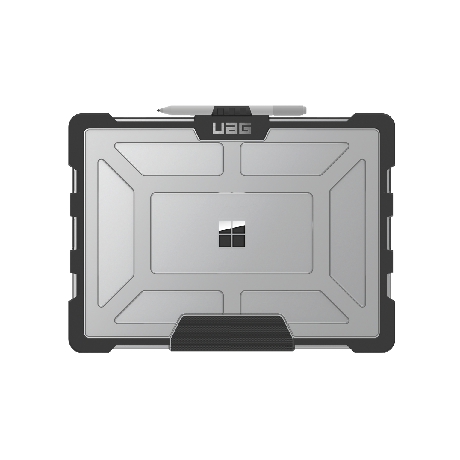 Surface Laptop 3 et Laptop 2 13.5p Coque de Protection renforcee Secure transparente