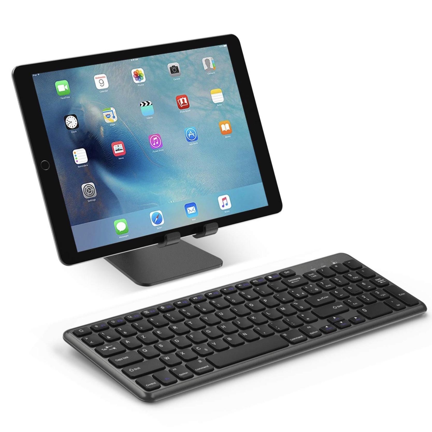 Clavier AZERTY Universel Sans fil pour tablettes iPAD et iPAD PRO iOS Design