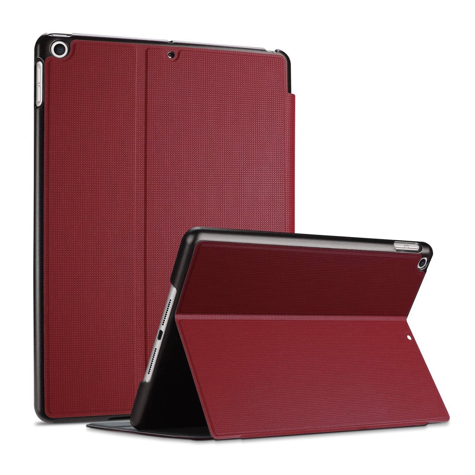 2 en 1 Etui Folio de protection Access et verre ecran renforce iPAD 10.2