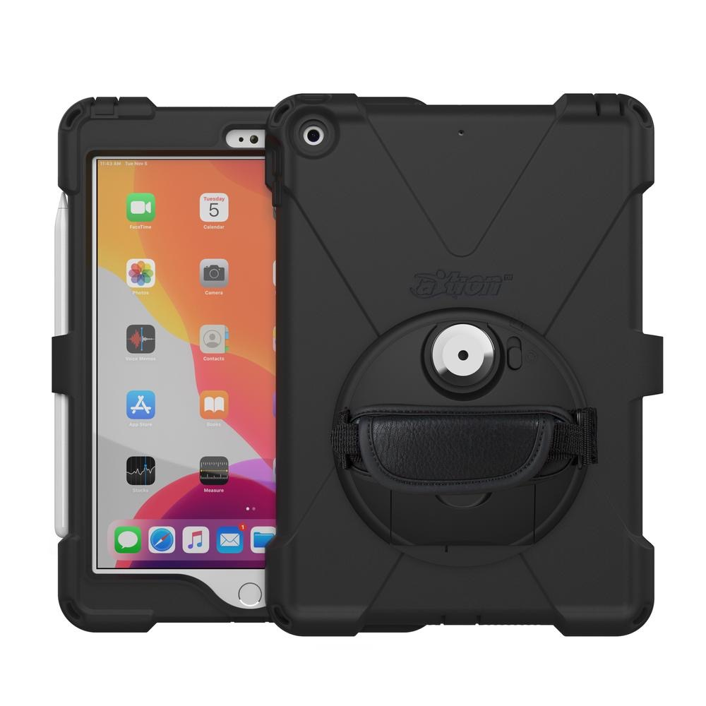 Pack 3 en 1 Coque professionnelle Sangle main et film ecran Apple iPAD 10.2 pouces Premium Connect