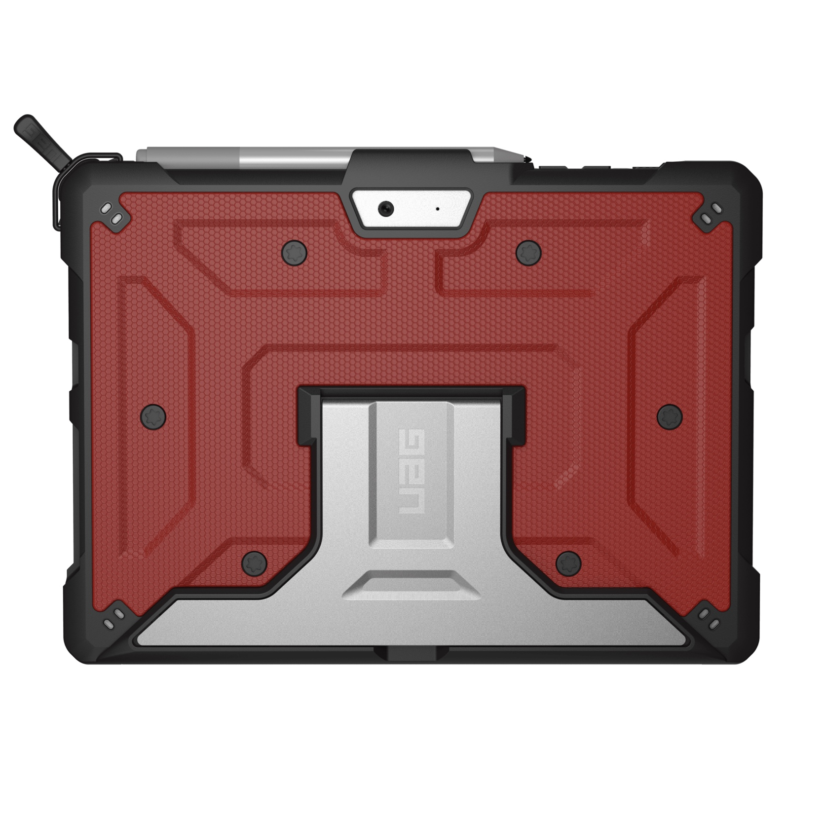 SURFACE GO 10p 2 en 1 Coque renforcee Armure et verre de protection ecran