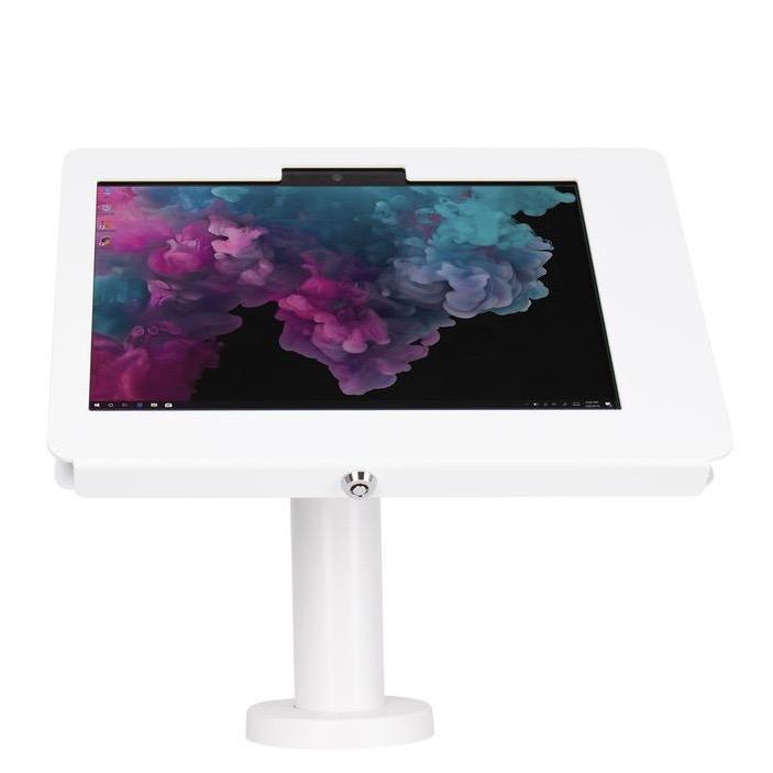 Support Stand de presentation pour Microsoft Surface GO 10p Base Light BLANC