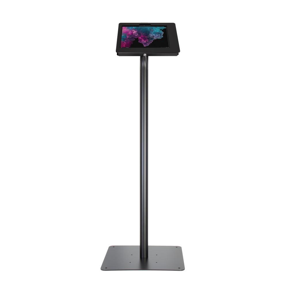 Surface GO 10p Borne de presentation sur pied NOIR 1M20