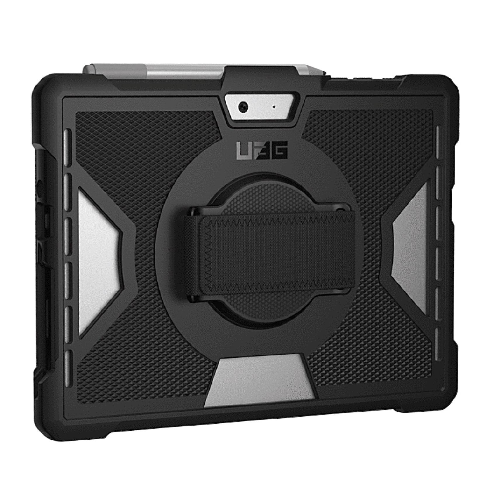 Pack 2 en 1 Coque renforcee avec sangle main Bulk et Verre de protection ecran Surface PRO 7 12.3p