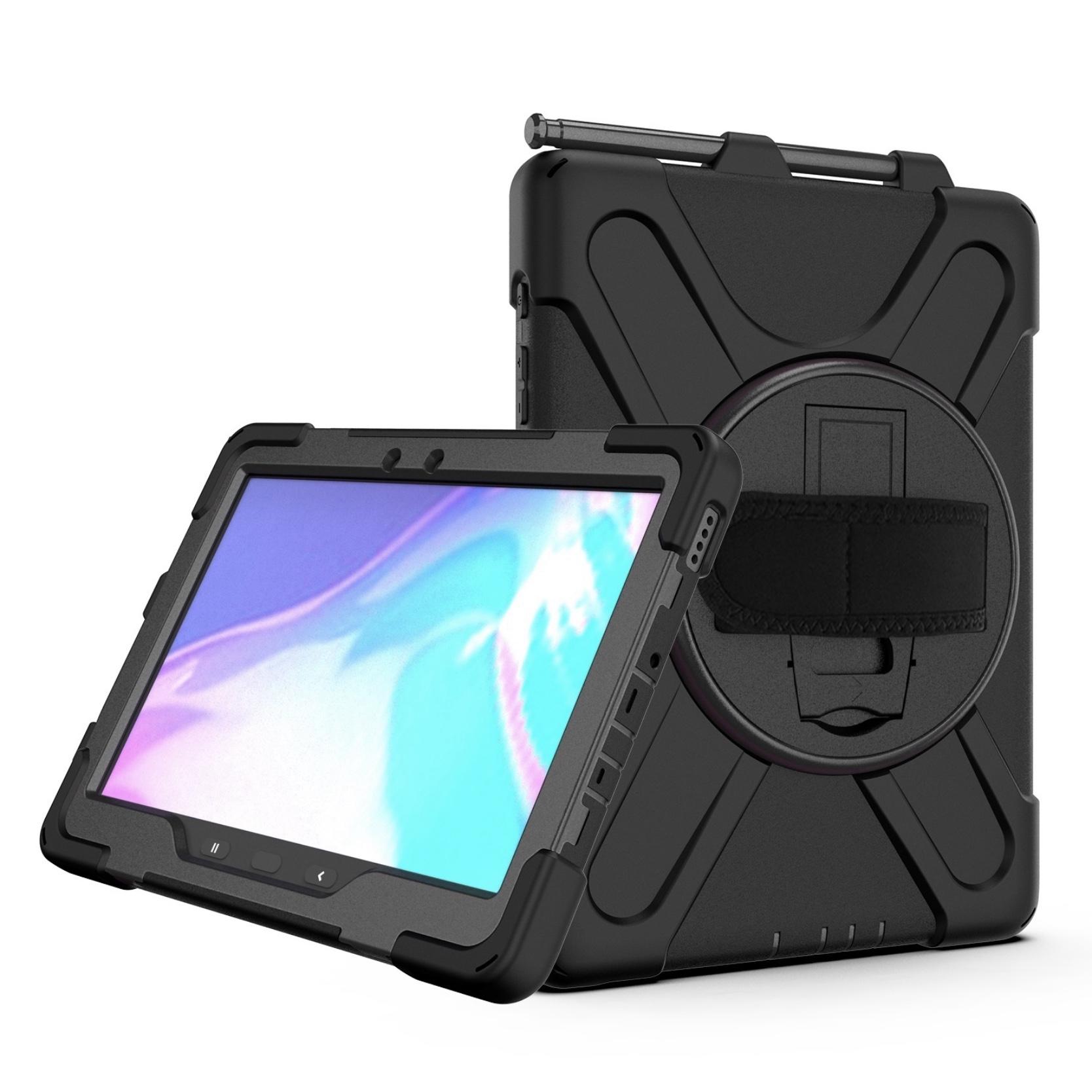 Bundle 3 en 1 Samsung Galaxy TAB ACTIVE PRO 10.1 Coque renforcee Support Stylet et sangle main