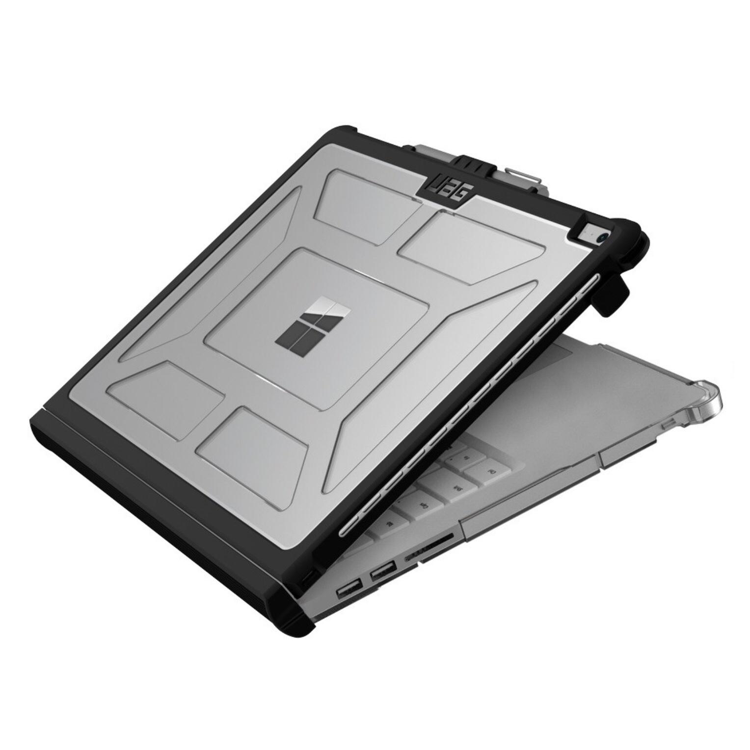 Pack 2 en 1 SURFACE BOOK 3 13.5 pouces Verre ecran et Coque de protection renforcee Armure