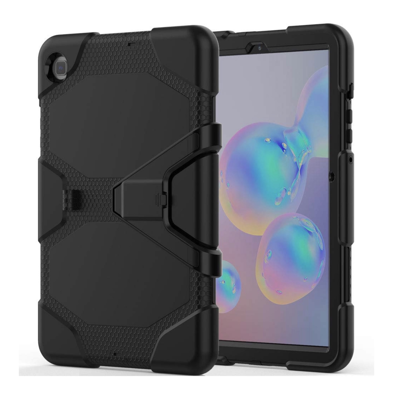 Vegas Galaxy TAB S6 LITE 10.4 pouces Coque renforcee et film rigide ecran