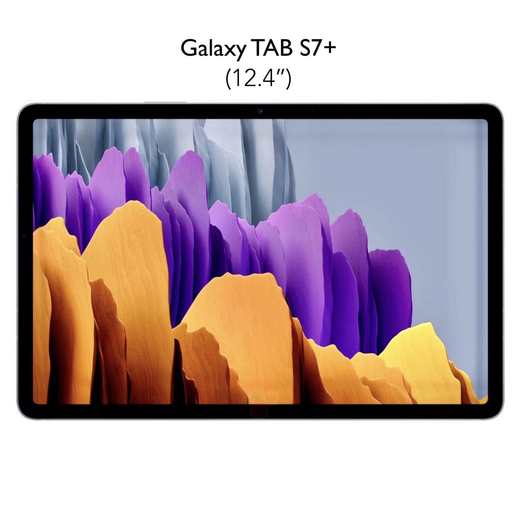 Pack de 2 Verres renforces de protection ecran Galaxy TAB S7 Plus 12.4 pouces Premium 9H