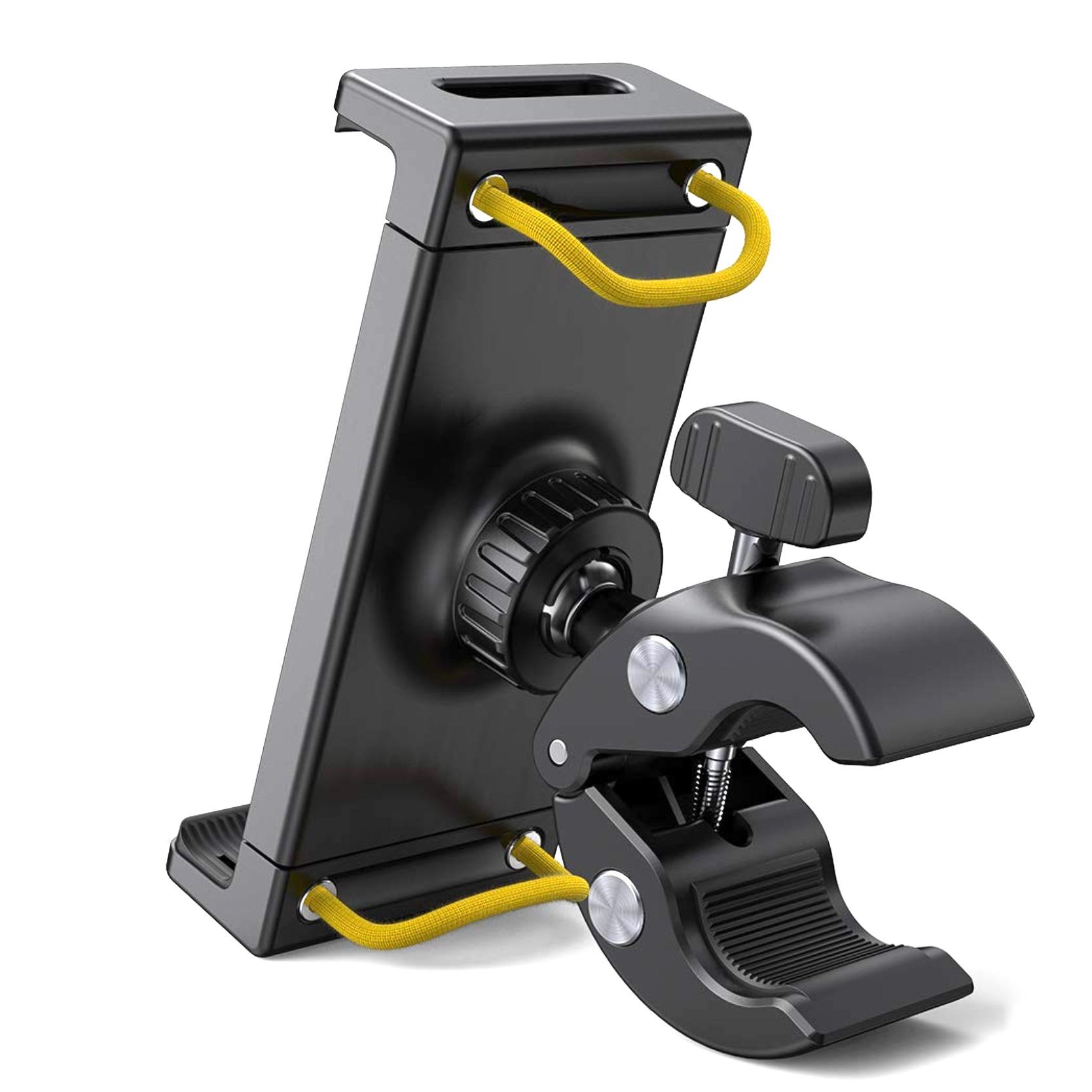 Support rotatif Universel Tablettes 8 à 12.9 pouces Fixation sur barre ronde