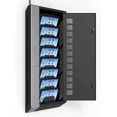 Armoire de charge Universelle 1 a 8 tablettes 7.9 a 10.5 pouces Wall Gris anthracite