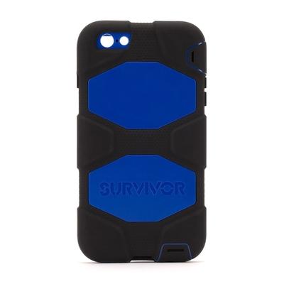 Coque Renforcée iPHONE 6 et 6S 4.7 pouces Survivor Bleu