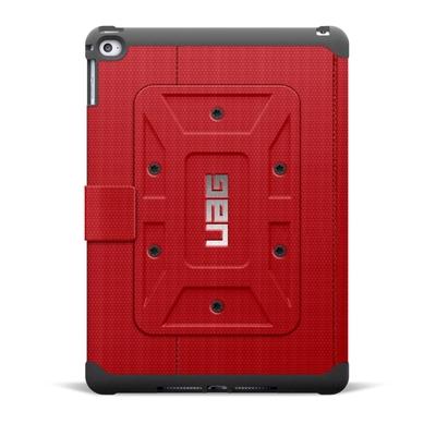 Etui Coque renforcée Pro iPad AIR 2 Folio Armure Rouge