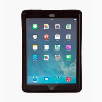 Coque renforcée Silicone + Pied iPad AIR 2 Survivor Slim Noir