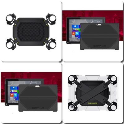 Kit 2 en 1 Harnais repose main Horizontal ou Vertical + Coque Survivor Surface 3