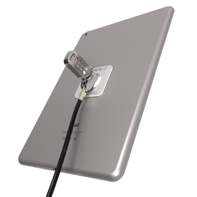 Kit Universel 2 en 1 Platine Aluminium et Câble Antivol a code chiffres