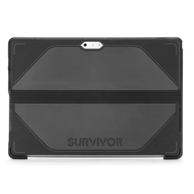 Coque renforcée Support Stylet Surface 3 10.8 pouces Survivor Noir