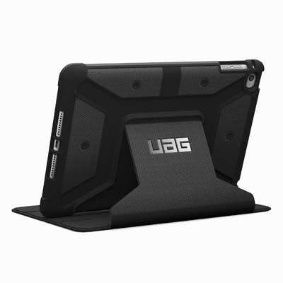 Etui iPad Mini 4 Folio Protection renforce Armure Noir