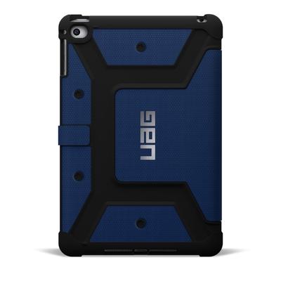 Etui iPad Mini 4 Folio Protection renforce Armure Bleu Cobalt