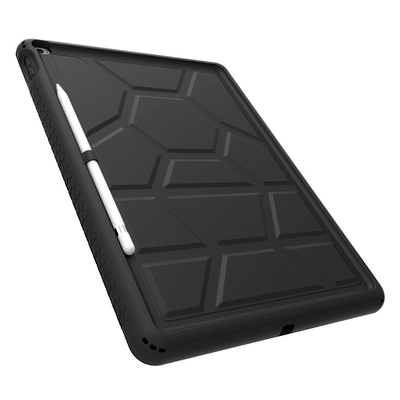 Coque silicone souple iPad PRO et Support stylet Premium