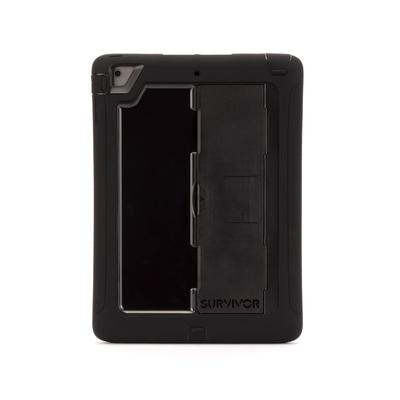 Coque renforcée + Pied Survivor Slim iPad AIR Noir