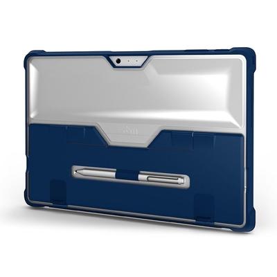 Coque Surface Pro 4 Protection renforcee Pied amovible Dux Pro Bleu