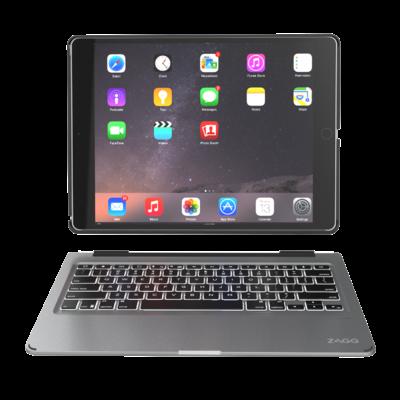 Coque clavier AZERTY retro eclaire iPad PRO 9.7 pouces Slim Book