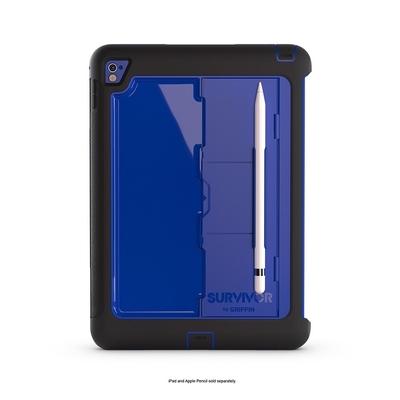 Survivor Slim Support Stylet et Pied Bleu iPad PRO 9.7