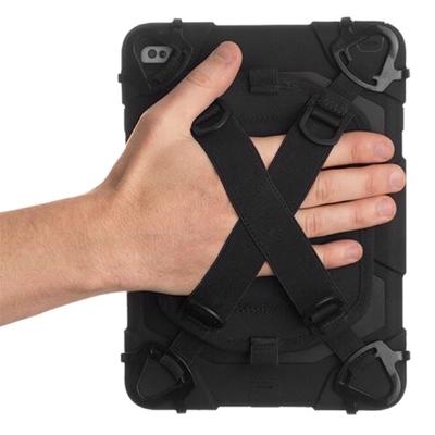 2 en 1 Coque protection renforcee Survivor Slim iPad PRO 12.9 et Harnais main rotatif