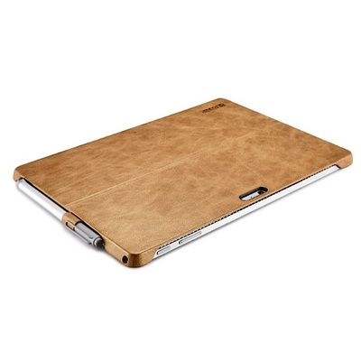 Coque protection Cuir veritable Surface PRO 4 Multi Angles Leather Camel