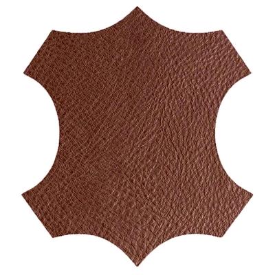 logo cuir marron