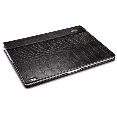 Folio Cuir Microsoft Surface BOOK Aspect Croco Noir