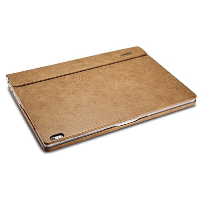 Folio Housse Microsoft Surface BOOK Cuir Veritable Camel