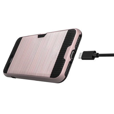 cable coque rose fente cb iphone 7