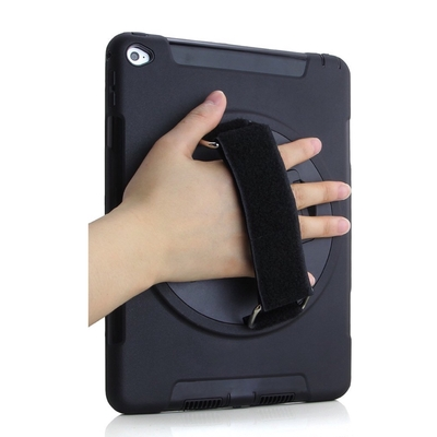 main iPad Mini 4 Coque et harnais main Sangle epaule Rotating