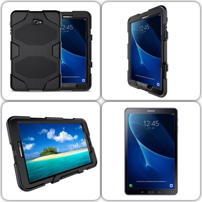 protection coque samsung galaxy tab a6 10 1 pouces shock noir samsung etuis coques galaxy. Black Bedroom Furniture Sets. Home Design Ideas